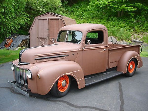 Ford : Other standard 1946 Ford Pickup,hot rod,rat rod - http://www.legendaryfind.com/carsforsale/ford-other-standard-1946-ford-pickuphot-rodrat-rod-2/