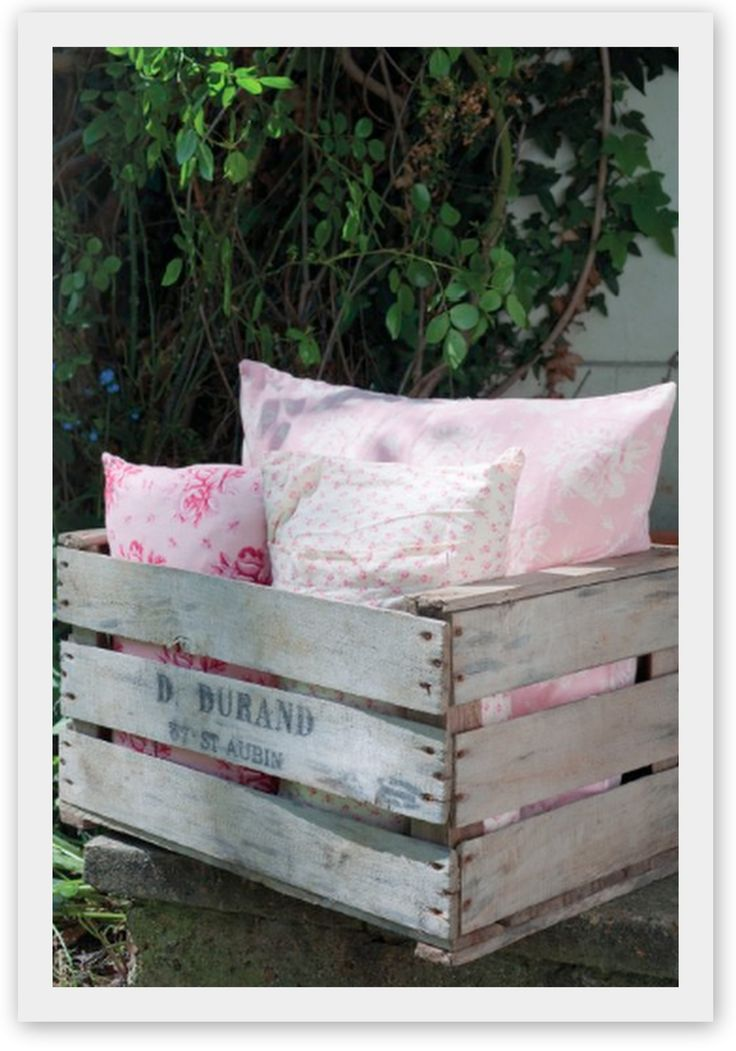 Cabbages and Roses pillows