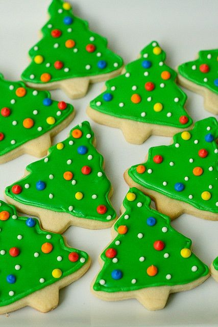 Just made these cut out sugar cookies today...amazing! They hold their shape while baking and hold up to kids handling them!