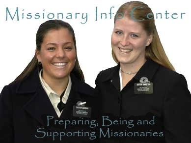 preparing, being and supporting missionaries