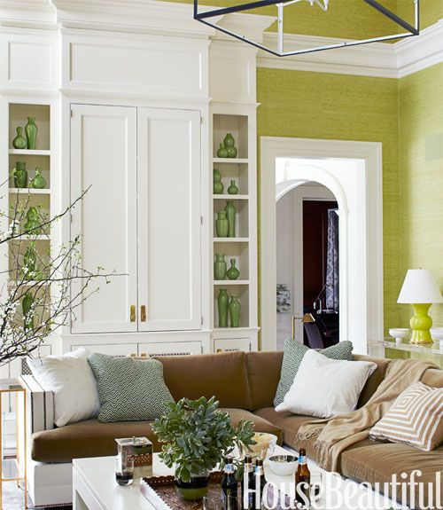 40 Gorgeous Green Rooms Thatll Give You Serious Goals