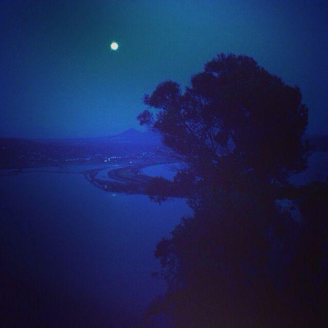 Magical full moon over Gialova lagoon!