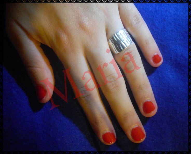 χειροποίητο δαχτυλίδι 925