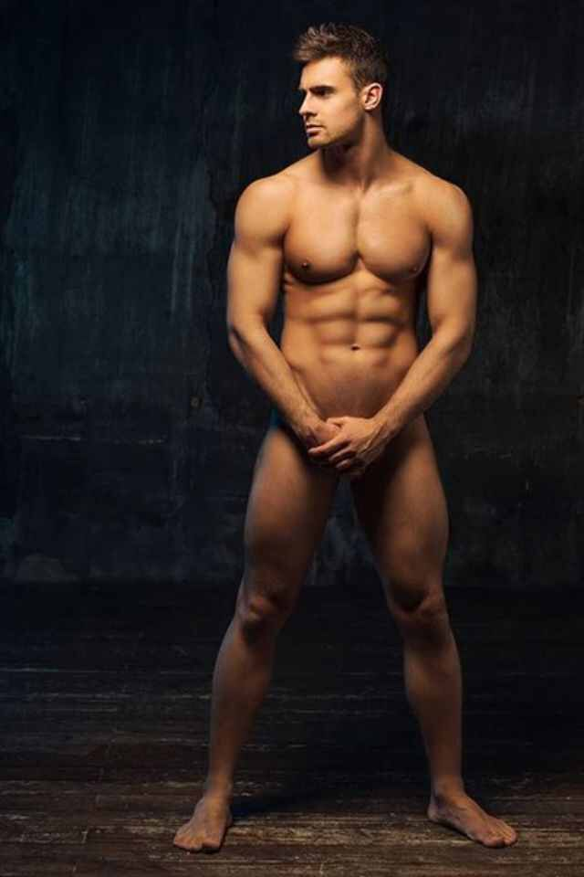 body full male Nude model
