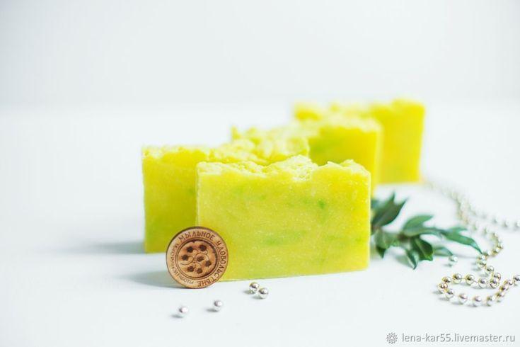 Мыло натуральное Мимоза застенчивая с нуля желтый – купить в интернет-магазине на Ярмарке Мастеров с доставкой