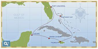 7-Night Western Caribbean Cruise on Disney Fantasy - Itinerary C
