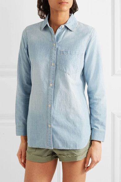 Madewell - Chambray Shirt - Blue