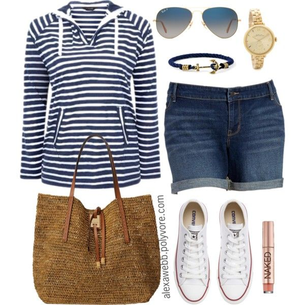 Plus Size - Weekend Casual by alexawebb on Polyvore #plussize #plussizefashion #outfit #alexawebb @alexandrawebb