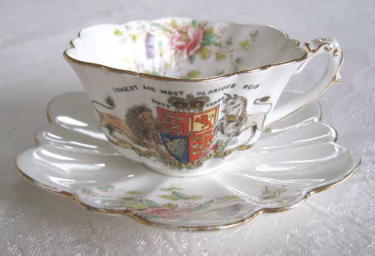 Diamond jubilee of queen victoria commemorative ornamental