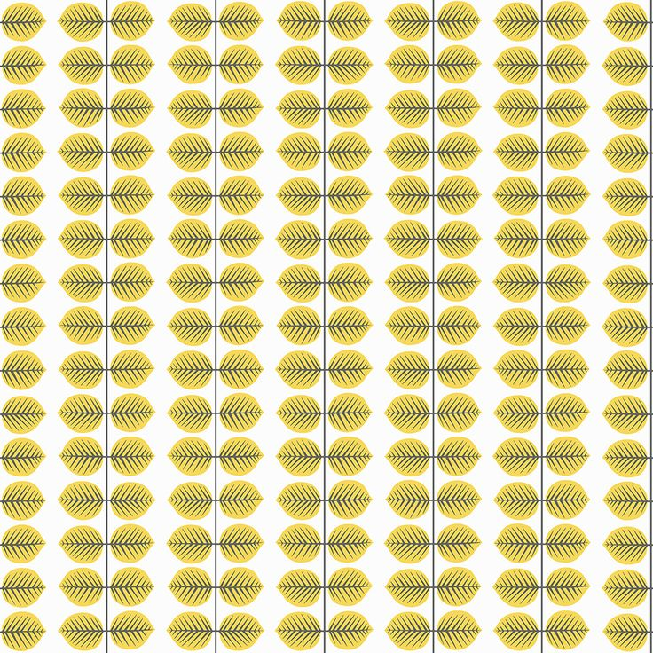 Bersa Yellow wallpaper by Boråstapeter