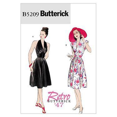 Butterick B5209 Misses' Dress