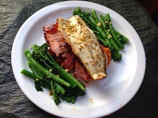 Lemon and Cheese: Jamie's 15 Minute Meals: Sea Bass and Crispy Pance...