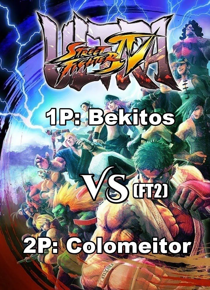 Ultra Street Fighter 4 versus (FT2) - Bekitos vs Colomeitor
