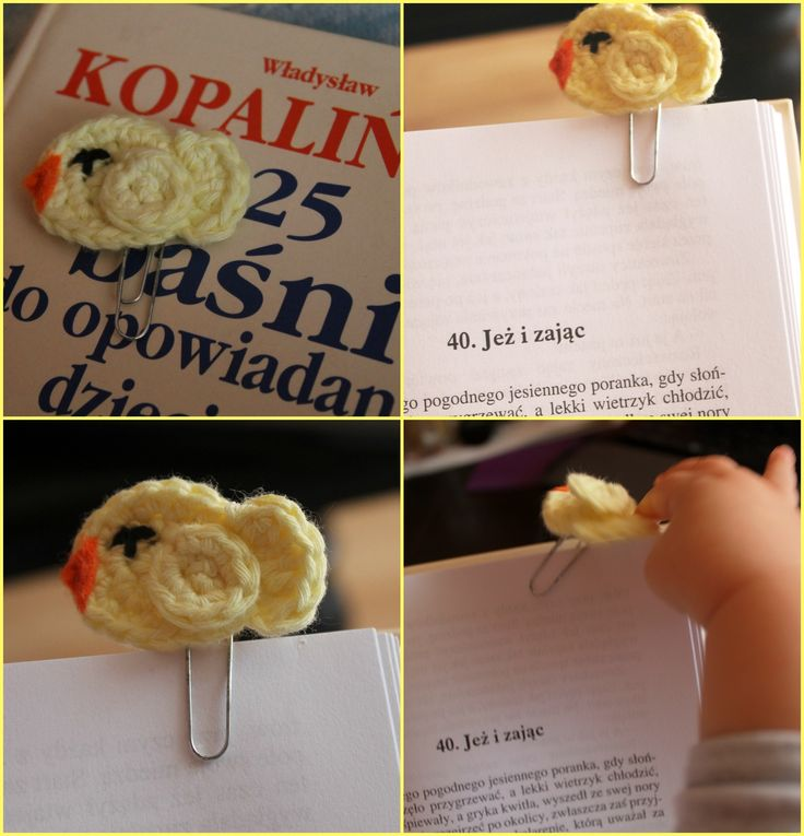 Crochet Bookmark! So cute :)