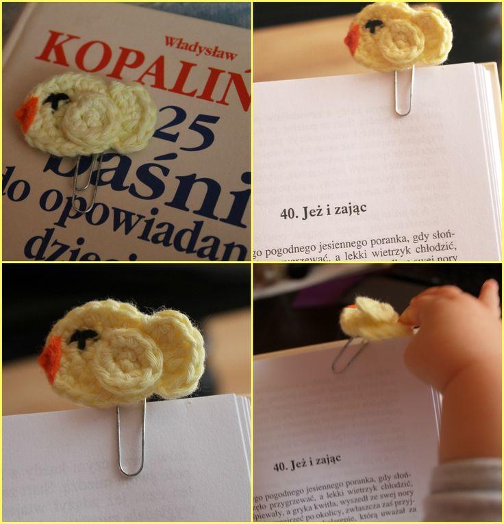 Crochet Bookmark! So cute :)