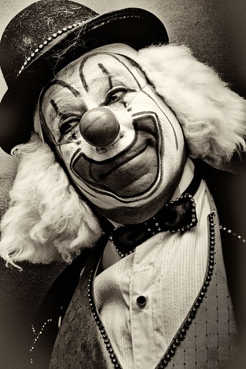 Mexican Clowns [Vintage] - Nicola Ókin Frioli - Photography