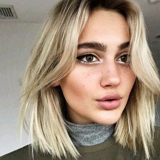 Pretty eyebrows, blonde hair --> Girls Pinterest: @FlorrieMorrie00