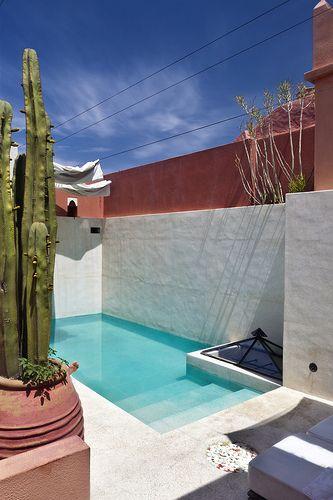 Las 25 mejores ideas sobre albercas peque as en pinterest - Fuentes para terrazas pequenas ...