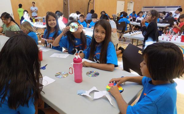 Geering Up brings engineering and science fun to the Musqueam community.