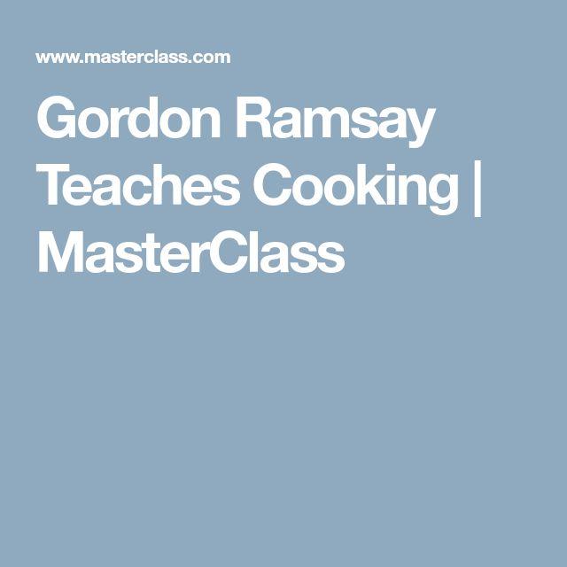 Gordon Ramsay Teaches Cooking | MasterClass