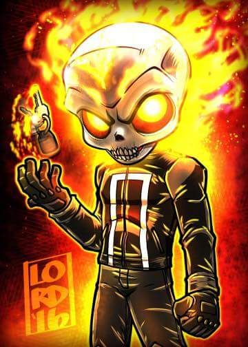 Ghost Rider by Lord Mesa