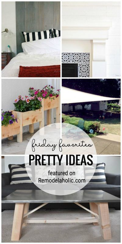 friday favorites shiplap headboard and faux metal coffee table - Kopfteil Plant Holzbearbeitung