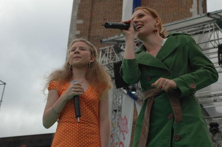 Festiwal Zaczarowanej Piosenki 2007 #zaczarowana scena Kasia Wachnik i Ewelina Flinta