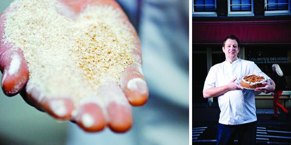 Zelfrijzend bakmeel: sommige recepten maken er veelvuldig gebruik van…andere recepten ontwijken het alsof het vuur is. We vroegen patissier Hans Heiloo (The Bakery Institute, Zaandam) alles over zelfrijzend bakmeel. Zelfrijzend bakmeel is patentbloem met 3 tot 5 % bakpoeder en 1% zout. Cakemeel is bloem met minder gluteneiwitten en meer zetmeel, plus smaakstoffen zoals vanille … (Lees verder…)