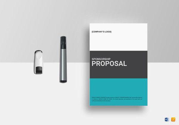 22 Sponsorship Proposal Template Free Word Excel Pdf Format