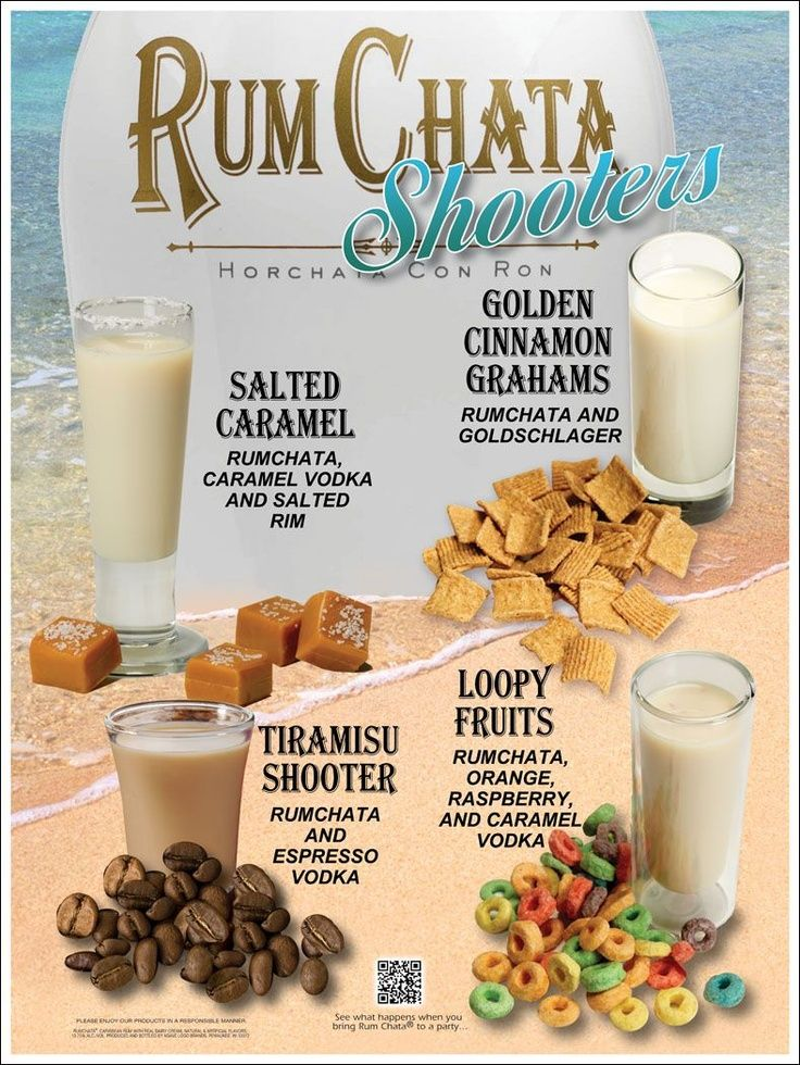 So many ways to use RumChata! | Liquor to Pair, but Not to Spare | #infografía