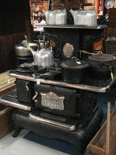 great aunt cooked on this stove her entire marriage - used wood as fuel