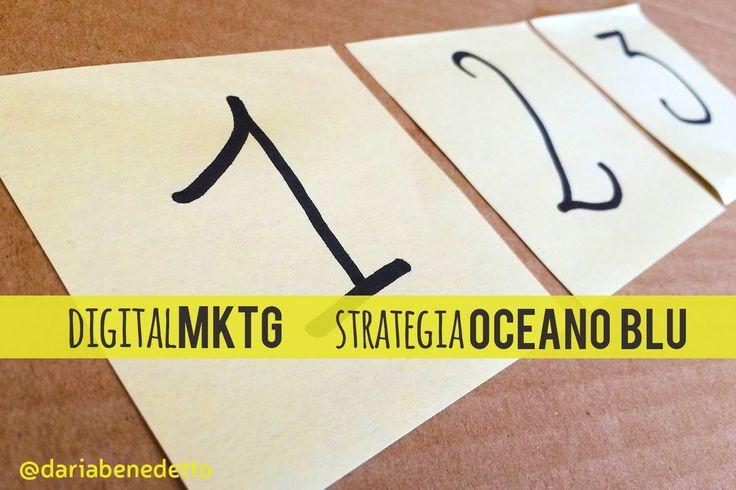 Digital Marketing e la strategia dell'oceano blu