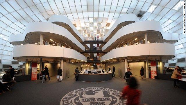 Philologische Bibliothek, Freie Universitat Berlin, Germany.