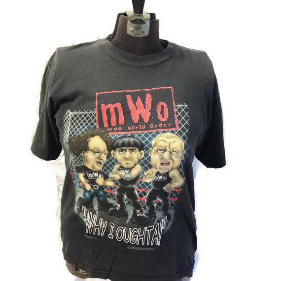 90's Wrestling Tshirt / NWO Tee Shirt / Three by RetroFreshTees, $18.00