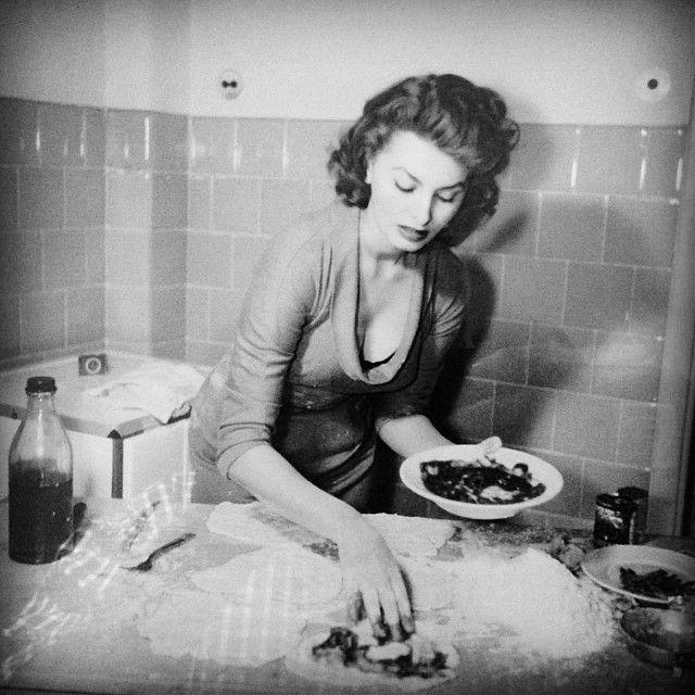 W kuchnii z miłością, Sophia Loren.