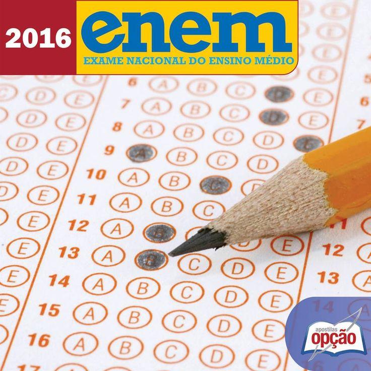 Apostilas Preparatórias Exame Nacional do Ensino Médio - ENEM / 2016, CLIQUE NA IMAGEM para acessar...