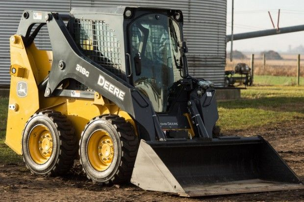 John Deere 318G John Deere's new G-Series: Skid steers, track loader driven by customer feedback