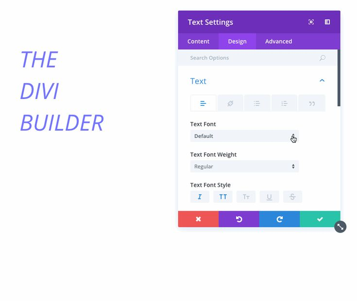 This new list of fonts is huge, but finding your desired font is easier than ever thanks to Divi's new font search feature. When you open the new font selection menu, you can simply start typing the name of your desired font and the list will be filtered accordingly.