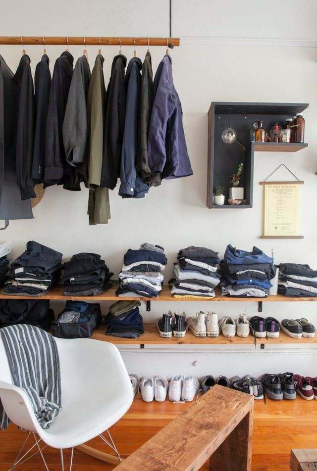 8 Bedrooms That Master The Open Closet Storage Trend Closet