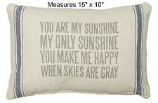 You are My Sunshine Pillow Home Decor / Accent Pillow Pillow for Bed