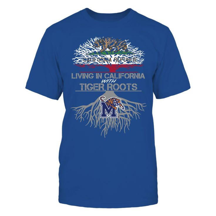 Memphis Tigers - Living Roots California T-Shirt, TIP: If you buy 2 or more (hint: make a gift for someone or team up) you'll save quite a lot on shipping.  Click the GREEN BUTTON, select your size and style.  The Memphis Tigers Collection, OFFICIAL MERCHANDISE  Available Products:          Gildan Unisex T-Shirt - $24.95 Gildan Women's T-Shirt - $26.95 District Men's Premium T-Shirt - $27.95 District Women's Premium T-Shirt - $29.95 Next Level Women's Premium Racerback Tank - $29.95 Gildan…