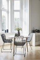 rattanstuhl schwarz, Stuhl design, Esszimmer Stühle, skandinavisch wohnen, Sessel schwarz, r rattanstuhl, dänisches Design