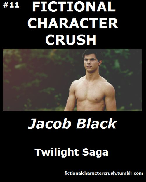 Not on team Jacob, but I do like Taylor Lautner's body.