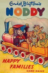 Noddy Happy Families Card Game by Enid Blyton