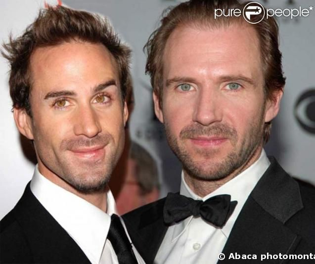 Ralph Fiennes and Joseph Fiennes