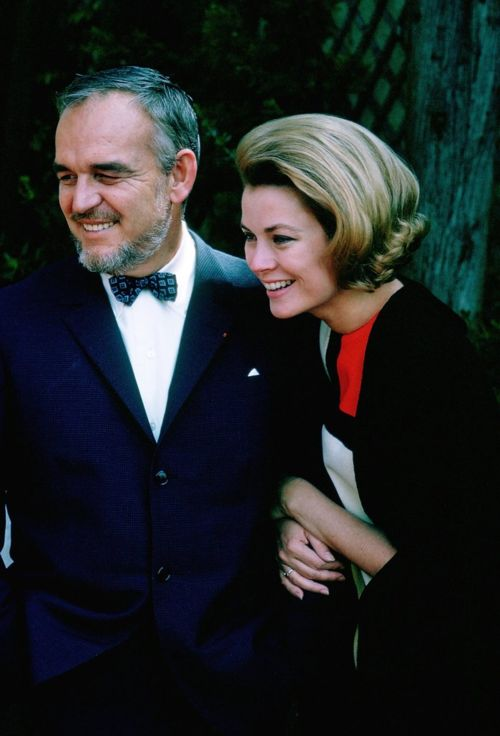 Prince Rainier and Princess Grace