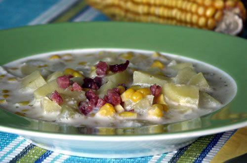 Aus dem Crockpot: Mais-Kartoffelsuppe