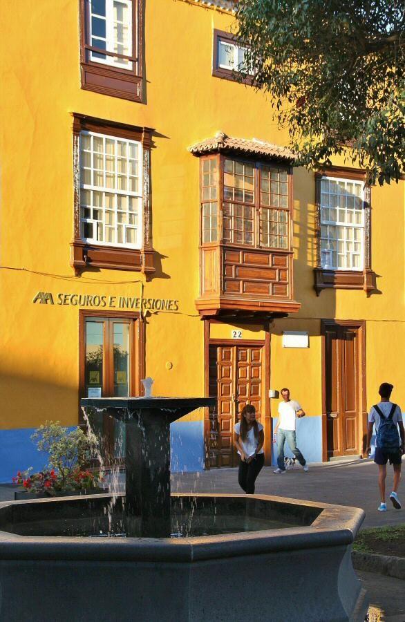 http://guias-viajar.com/ Rincón del centro histórico de La Laguna en Tenerife