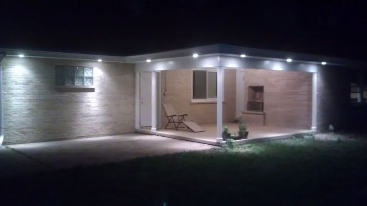 Recessed Porch Light Fixtures In Outdoor Recessed Lighting Pics Page 2 Electrician Talk