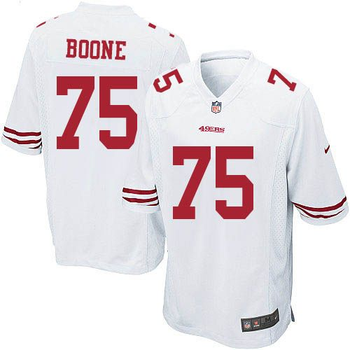 Nike jerseys for sale - Alex Boone Game Jersey-80%OFF Nike Alex Boone Game Jersey at 49ers ...